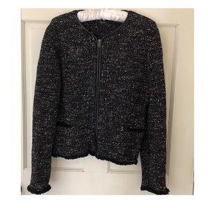 Massimo Dutti | Tweed Tailored Blazer